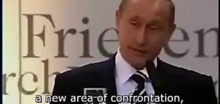 Putin's speech exposes the NWO