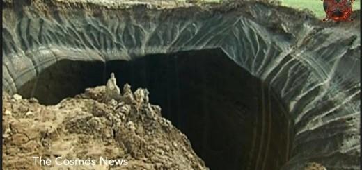 Siberië krater