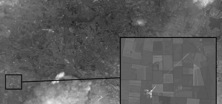 MH17-Satelliet-Foto