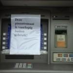 Toch weer plofkraak ondanks verbod nachtelijke geldopname pinautomaten
