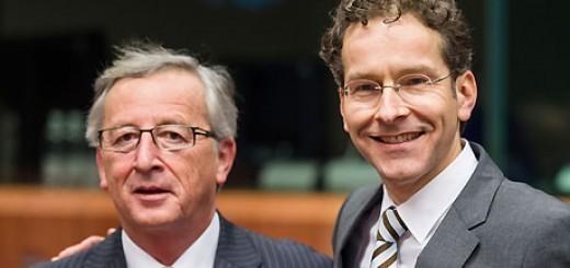 Jean-Claude Juncker and Jeroen Dijsselbloem