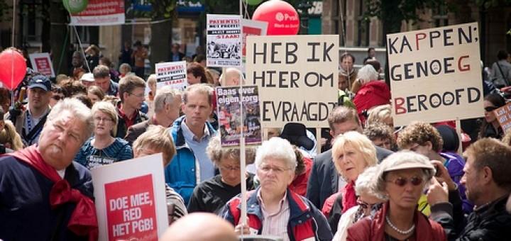 Actie Red het PGB Den Haag