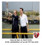 Hans de Boer en Mark Rutte