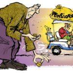 Meer geld naar pensioenen door forse stijging pensioenpremies, minder naar loonsverhoging