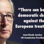 EU-verkiezingsresultaten laten zien dat mensen de 'nep-democratie' zat zijn