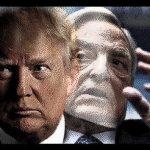 Trump wordt aangevallen door 187 organisaties die gefinancierdworden door George Soros