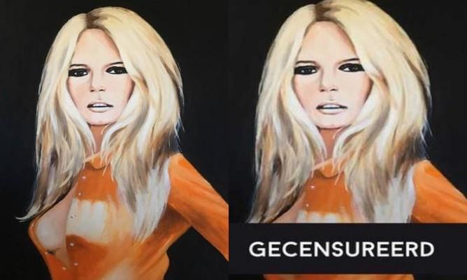 Brigitte Bardot gecensureerd