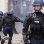 EUROGENDFOR, het privé-leger van de EU-Grandeurs tegen de volkeren van Europa is ingezet in Frankrijk!