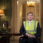 Koning Willem-Alexander over corona: 'Dat is fake news'