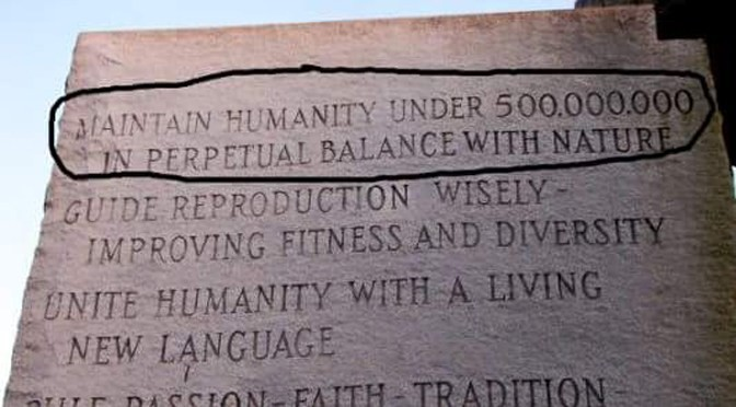 Image result for Georgia Guidestones