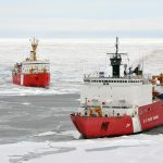 Verschrikkelijk die opwarming: Zuid-Korea redt Chinese ijsbreker die op Antarctica vast zit