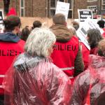 Links moet weer stom doen, gebruiken Rode Hesjes ipv Gele Hesjes om tegen wanbeleid van Rutte te protesteren