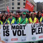 Belgen zijn het zat: woensdag een algemene staking en daarmee de Belgische economie tot stilstand brengen