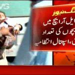 Pakistaanse ouders vallen ziekenhuis aan, nadat 700 kinderen ziek werden na poliovaccin