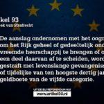 Lezen voor je gaat stemmen: EU-burgerschap zorgt dat Nederland verdwijnt met jouw goedkeuren