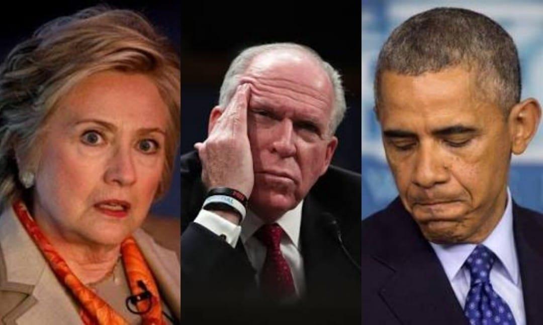 Beeldresultaat voor Obama en Brennan