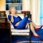 Bizar schilderij van Bill Clinton in jurk bij Jeffrey Epstein gevonden