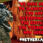 ISIS schietBoerkabuddies te hulp, dreigen Nederlandse kerken op te blazen vanwege boerkaverbod