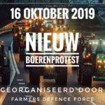 De boeren komen op 16 oktober terug naar Den-Haag met nog véél meer boeren