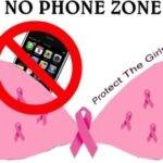 """""""Wees zuinig op je tetten - Geen telefoons in BH's!"""" Zegt Dr. Oz en andere gezondheidsexperts"""