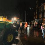 Boze boeren duiken plotseling op bij Binnenhof Den Haag inclusief tractoren