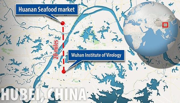 Het hoogste laboratorium van China voor het bestuderen van virussen bevindt zich in Wuhan, dezelfde stad in het centrum van de huidige uitbraak van coronavirus