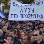 """De Grieken gaan in algemene staking tegen asielzoekers: """"We willen onze eilanden en ons leven terug"""""""