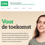 4 op de 5 rechters is D66-rechter en 95 procent D66'ers willen dat zo houden!