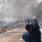 Beelden vanaf het slachtveld: Griekse politie stopt Erdogan's golf van vluchtelingen met gesloten grenspoorten