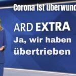Duitse publieke omroep: Ja, we hebben corona overdreven