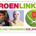 GroenLinkse islamist ontvangt ruime steunbetuiging van extreemlinkse groepjes