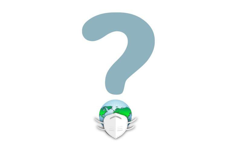 Question Mark Face Mask Globe  - geralt / Pixabay
